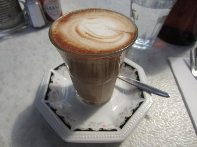 Cafe au soy